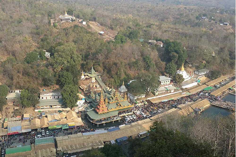 Mann Shwe Settaw Pagoda Festival