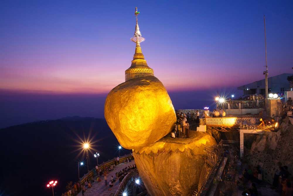 Kyaikhtiyoe Pagoda Festival