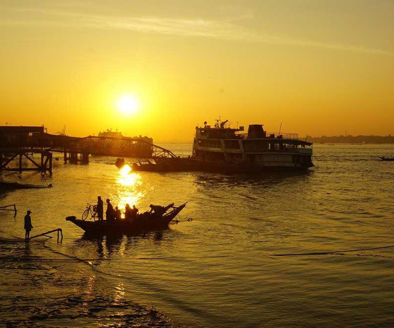 Yangon Dala River