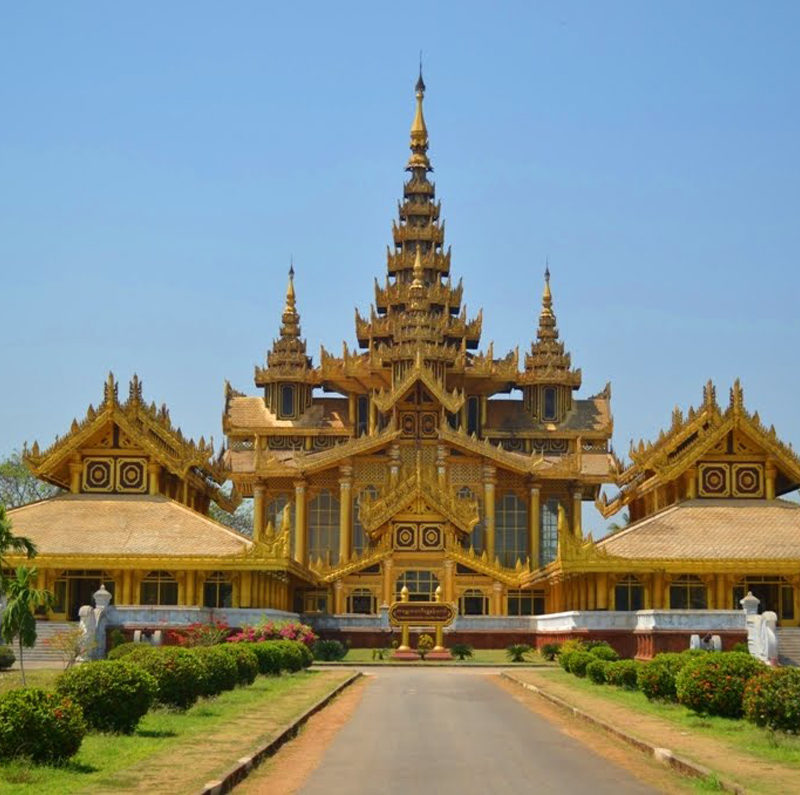 Kanbawzathadi-Palace