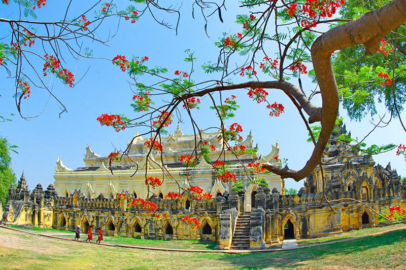 Mainu Brick Monastery