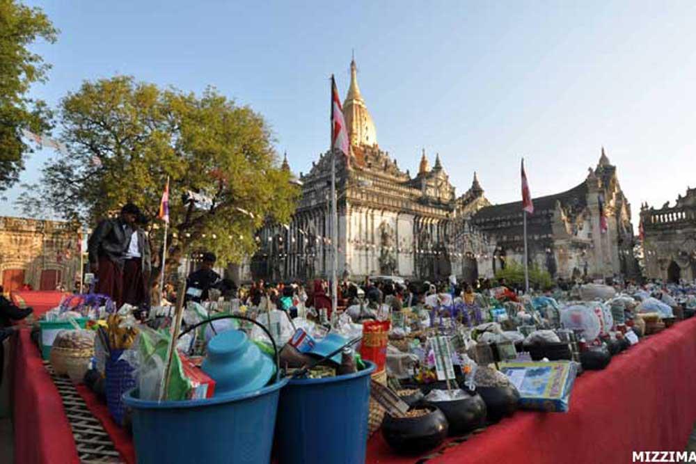 Ananda Pagoda Festival