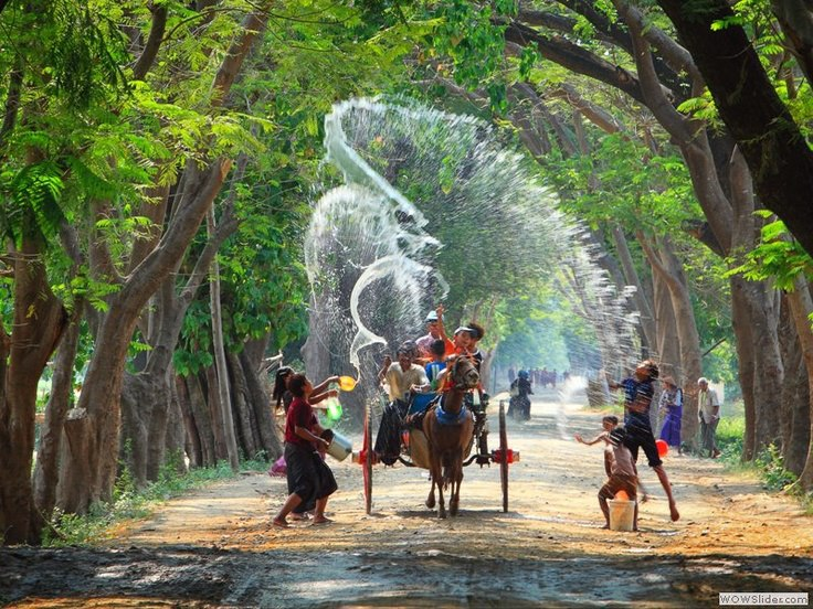 Water Festival and Myanmar New Year