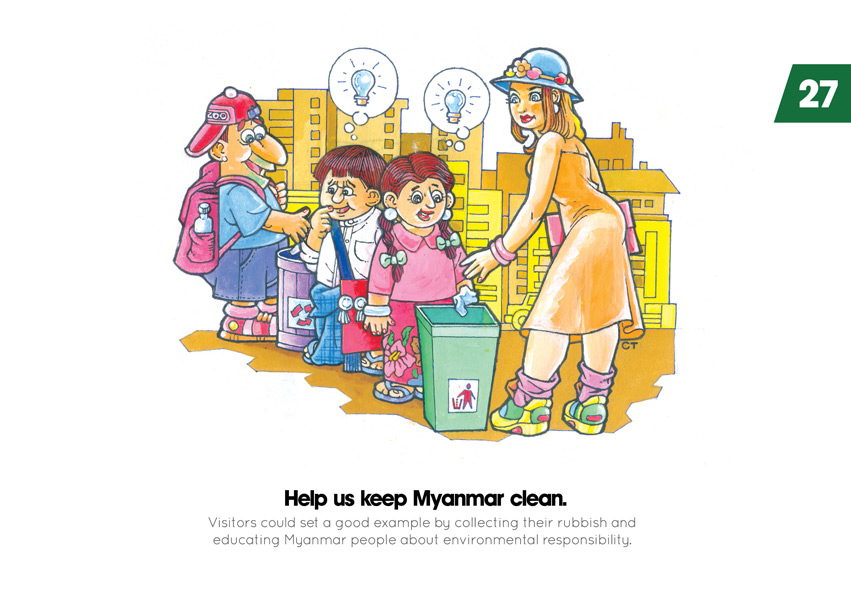 Help us keep Myanmar clean