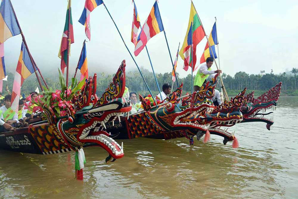 Dragon Boat Racing in Tanintharyi
