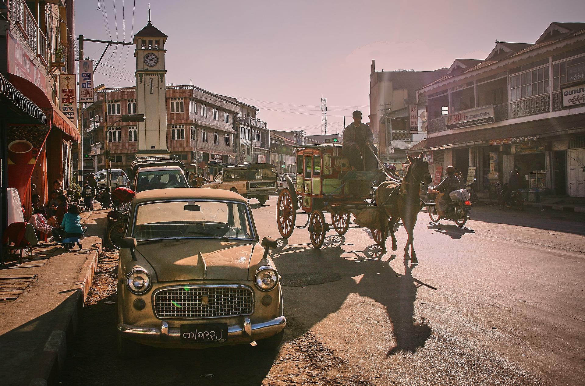 vintage photo of Pyin Oo Lwin
